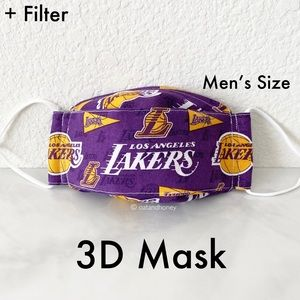 NBA Los Angeles Lakers Mask w/Filter
